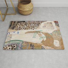 Gustav Klimt -  Water Serpents Rug