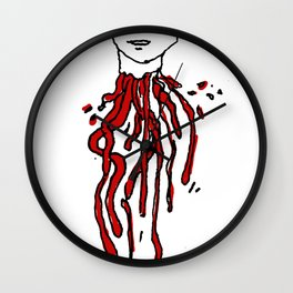 head Wall Clock