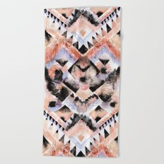 Southwest Floral Beach Towel