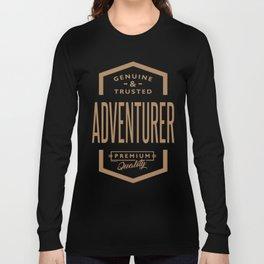 Adventurer - Funny Job and Hobby Long Sleeve T-shirt
