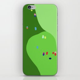 Golf Course Party iPhone Skin
