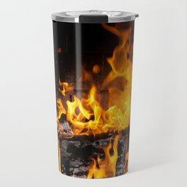 fireplace Travel Mug