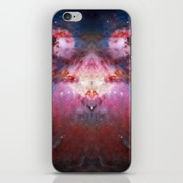 Space Butterfly iPhone Skin