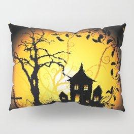 Halloween Castle Nightmare Pillow Sham