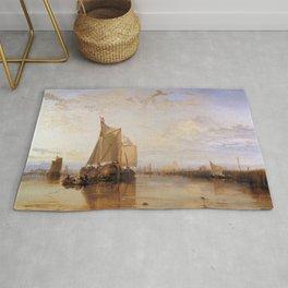 William Turner - The Dort Packet-Boat from Rotterdam Becalmed Rug