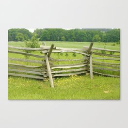 Gettysburg photography Canvas Print