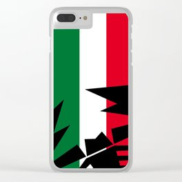 Abarth Scorpion Italy Clear iPhone Case