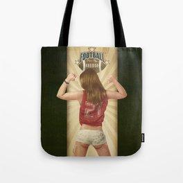 VINTAGE GIRLS - Footnall Tote Bag