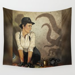 Detective 2 Wall Tapestry