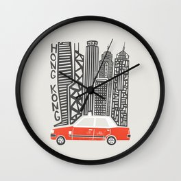 Hong Kong City Wall Clock