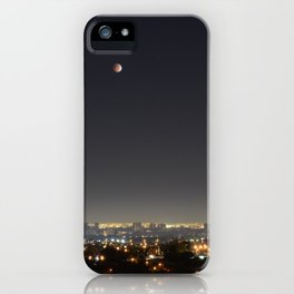 City Blood Moon. iPhone Case