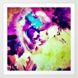 Dream of the Blue Rabbit Art Print