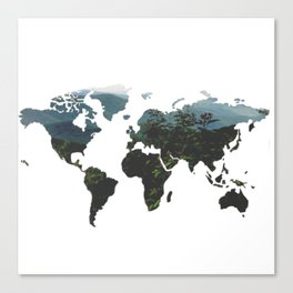 World of Nature Canvas Print