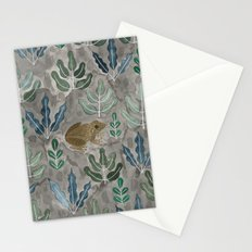 Save the frogs! Stationery Cards