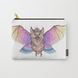 Marvelous Things - Bat with Butterfly Wings Carry-All Pouch
