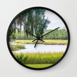By the Bayou Wall Clock