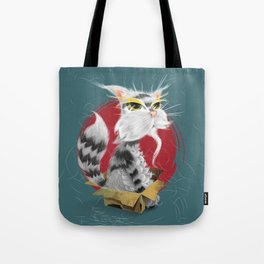 PAW MEI - The Wise Cat Tote Bag