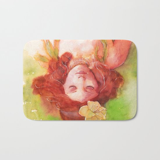 Princess of the forest Bath Mat