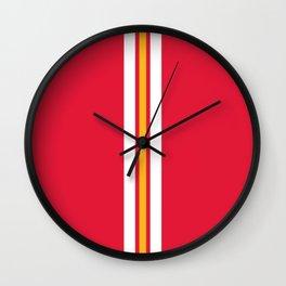 Kansas City Football Wall Clock