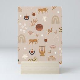 Composition of pretty Doodles #shapeart #digitalart Mini Art Print