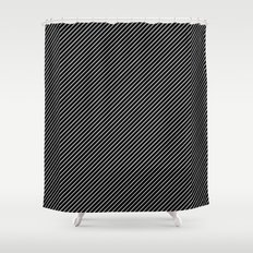 Dia Lines Shower Curtain