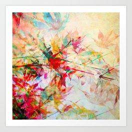 Abstract Autumn 2 Art Print