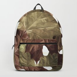 Faded Autumn Leaves Backpack