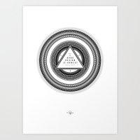 Good Design is Honest / Gutes Design ist Ehrlich Art Print