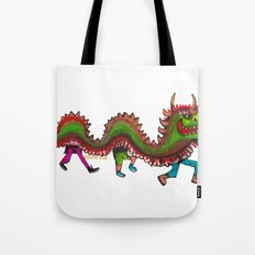 Happy Year of the Dragon  Tote Bag