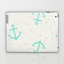 Starfish Anchors - Pearl Laptop & iPad Skin