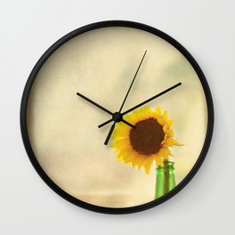Bottled Sun Wall Clock
