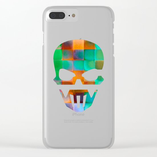 CHECKED DESIGN II Clear iPhone Case