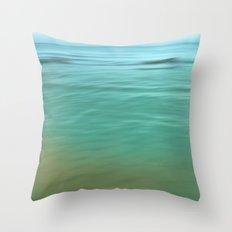 Smooth Wave  Throw Pillow