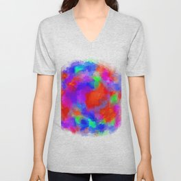 can't be watercolor Unisex V-Neck