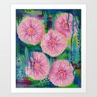 Gum Tree Blossoms Art Print