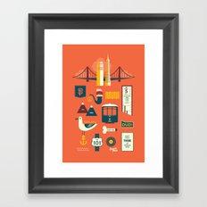 Sanfrancisco Framed Art Print