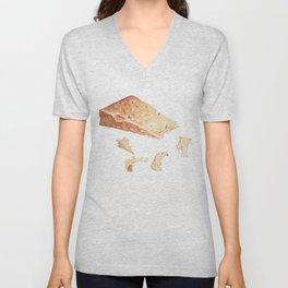 Parmigiano-Reggiano Cheese Unisex V-Neck