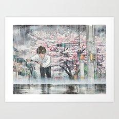 Bicycle Boy 06 Art Print