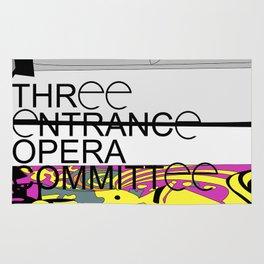 Three Entrance Opera Comittee Rug