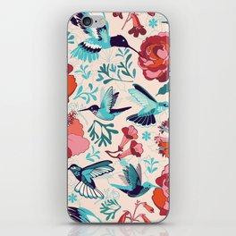 Hummingbird summerdance iPhone Skin