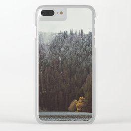 Two seasons Clear iPhone Case