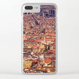 Italian city Clear iPhone Case