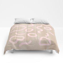 Pink Confetti Comforters