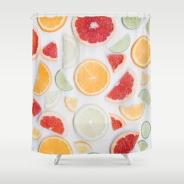 citrus fresh Shower Curtain