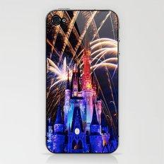 Walt Disney World Christmas Eve Fireworks iPhone & iPod Skin