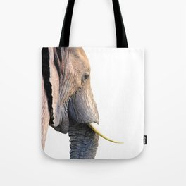 Elephant portrait Tote Bag
