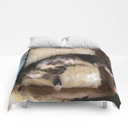 Free Fall Kitty Comforters