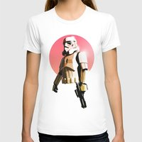 stormtrooper T-shirts featuring Stormtrooper by Luke Fisher