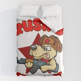 RUSSIAN DOG AK47 Rush B Cyka Blyat CS GO Gamer Comforters
