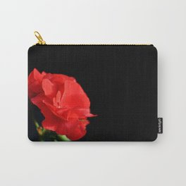 Red on black Carry-All Pouch